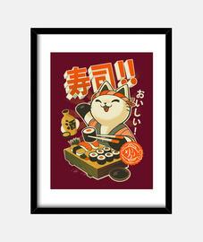 Sushi chef print