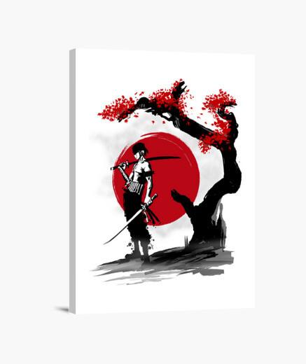 Lienzo Swordsman Pirate