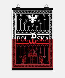 Symbolized poland. POLSKA!!