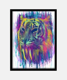 synthetischer tiger