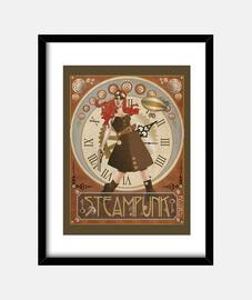 t-shirt steampunk femme