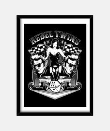 tabella rock rockers rockabilly pinup vintage rock e roll hotrod ribelli