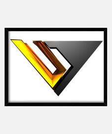 table avec logo