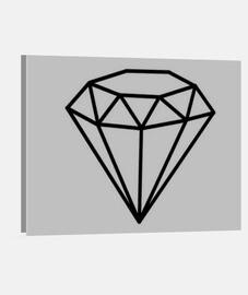 Tableau diamant