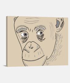 Tableau singe