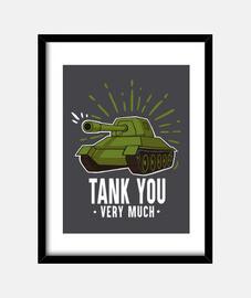 Tank you print