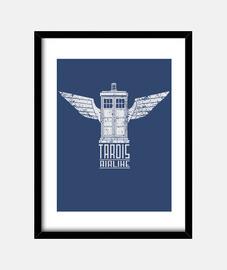 TARDIS AIRLINE BY FERNANDO SALA SOLER