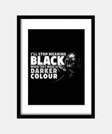 tee imprimé noir