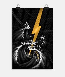 tempesta di chitarra elettrica