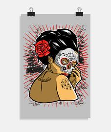 teschio di geisha