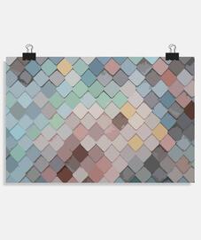 Textura mosaico