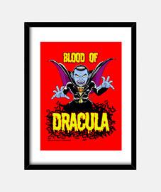 The blood of Dracula -  Cuadro