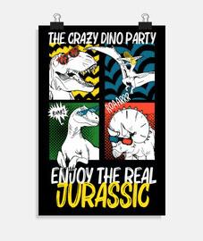 The crazy dino party