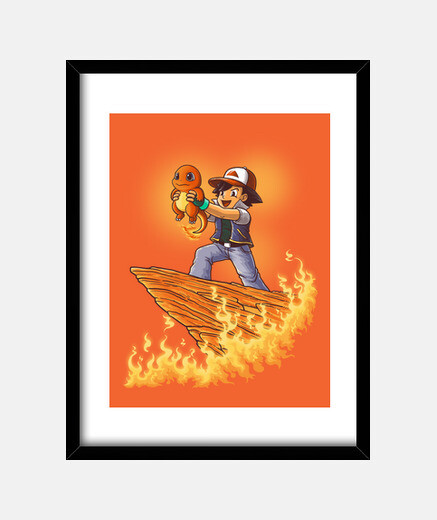 The Fire King Print