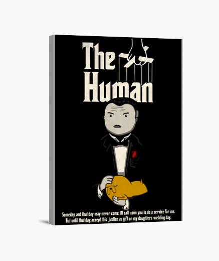 The Human Lienzo