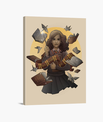 Lienzo The Magic of Books