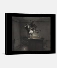 The Room 4 - Lienzo en bastidor horizontal 4:3. Tela de lienzo