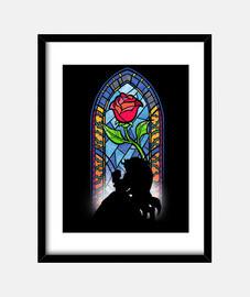 The rose print