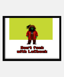 The Secret of Monkey Island: Don't fuck with LeChuck