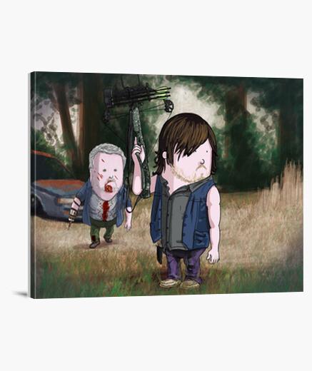 Lienzo The Walking Dead By Calvichi's Daryl | L