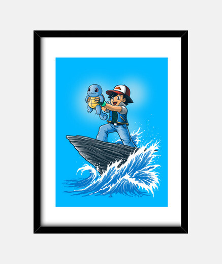 The Water King Print