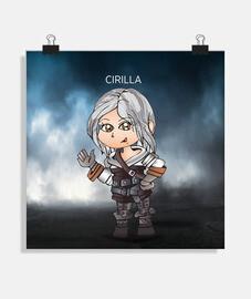 The Witcher. Baby Cirilla