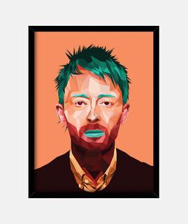 Thom Yorke cuadro Vertical