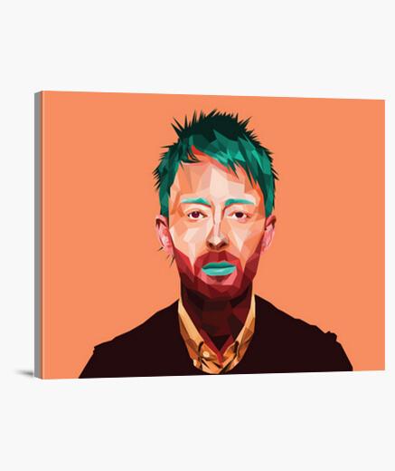 Thom Yorke lienzo en bastidor