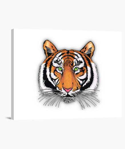 Lienzo tigre