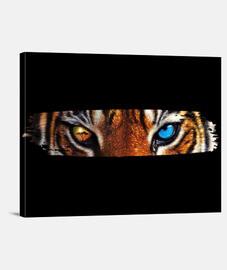 Tigre africano Lienzo Horizontal 4:3 - (40 x 30 cm)