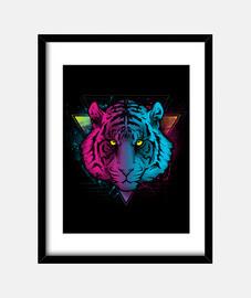 tigre rétro