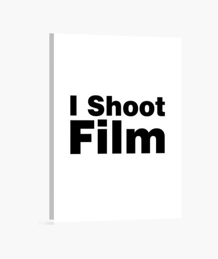 Lienzo tiro a la película (fondo blanco)