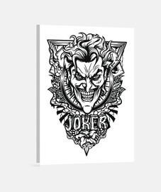 Toile - Black Joker