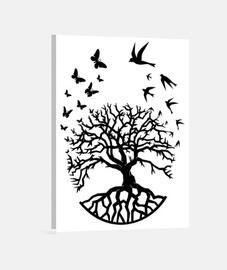 toile arbre vie sagesse harmonie FC