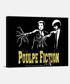 Toile horizontale poulpe fiction