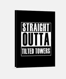 torres rectas inclinadas
