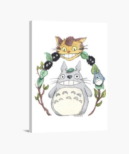 Lienzo Totoro