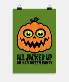 tous jacked sur halloween bonbons jack-