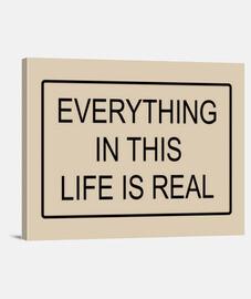 tout est réel