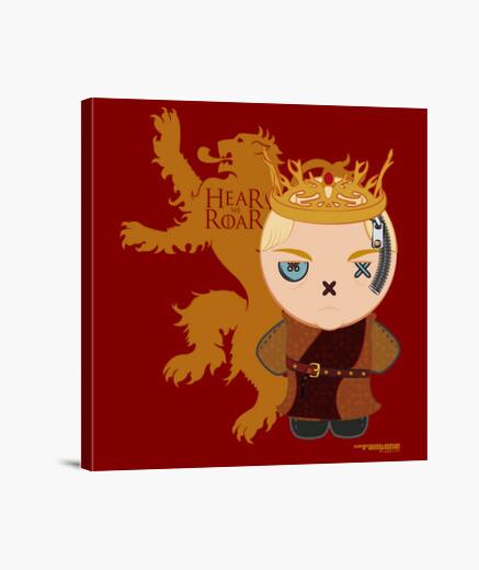 Impression sur toile trônes - joffrey
