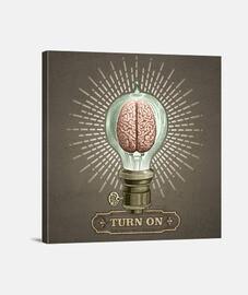 turn on (lienzo cuadrado)