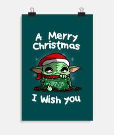 una feliz navidad te deseo