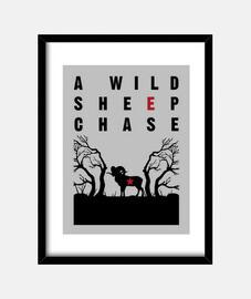 una wild caccia pecore
