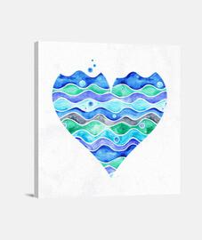 une mer d'amour