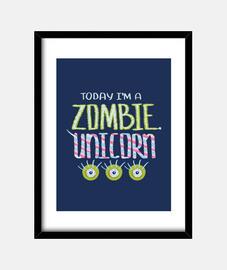 unicornio zombie
