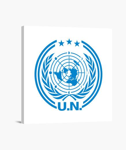 Lienzo United Nations Logo - The Expanse