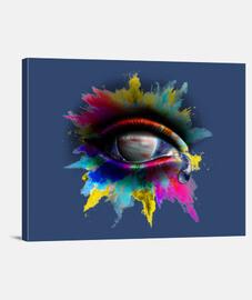 Universe Eye - Lienzo Horizontal 4:3 - (40 x 30 cm)