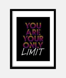 usted es su único límite