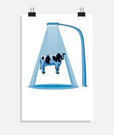 Vaca abducida