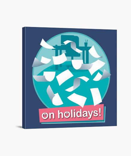 Lienzo Vacaciones! - ON HOLIDAYS!